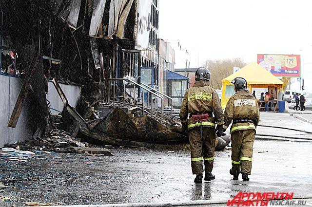Пожарные спасли 15 человек.