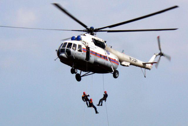 Вертолет МЧС.