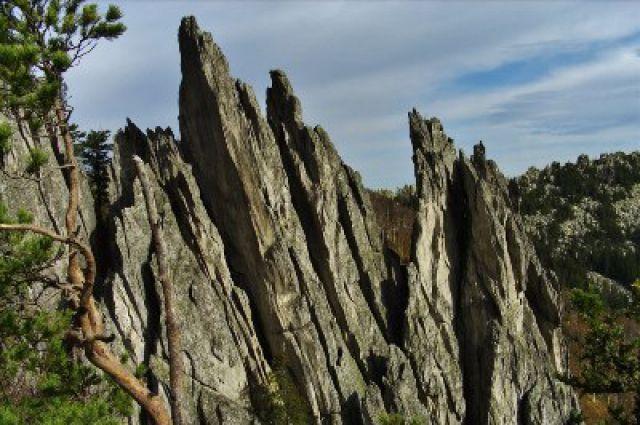 Таганайские скалы.
