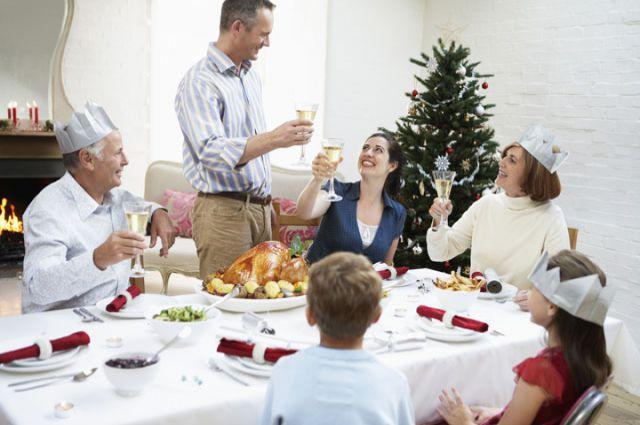 Старый новый год – самый семейный праздник.