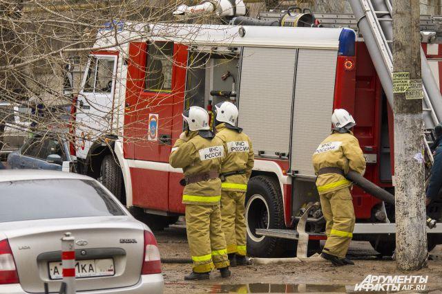 Все три возгорания произошли в Советском округе.