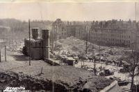Кенигсберг послевоенный. Переснятая фотография.