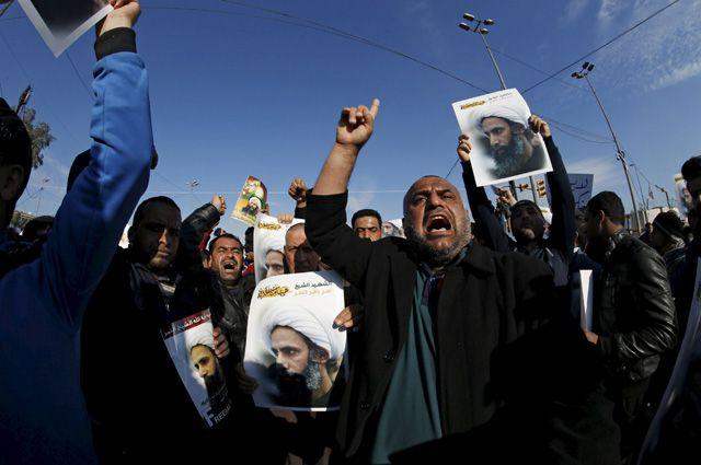 Жители Ирана возмущены казнями в Саудовской Аравии.