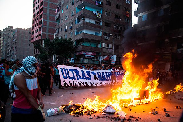 Огонь, дым и хаос - страшные плоды «арабской весны».