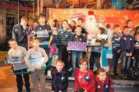 Праздник, организованный Фондом «АиФ. Доброе сердце» для детей из детских домов.  Все ребята говорили, что это самые яркие эмоции в их жизни!