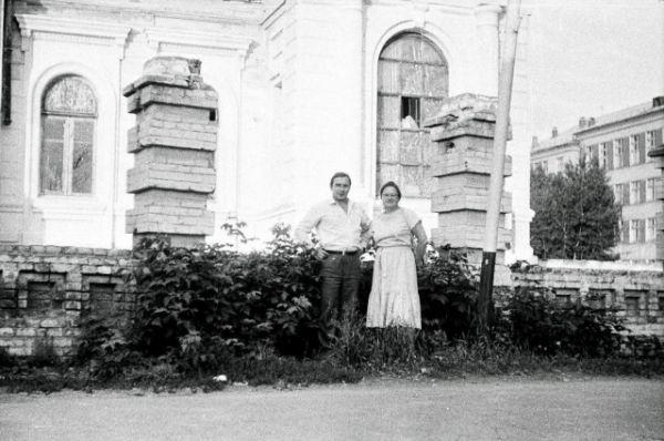 Дом Колчака в 1986 году.