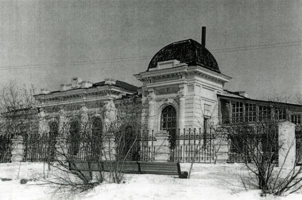 Костно-туберкулёзный диспансер в доме Колчака, 1965 год.