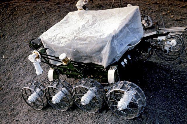«Луноход-1» на испытаниях.