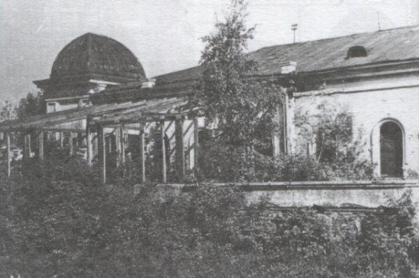Дом Колчака во время запустения 1985-1987 годы.