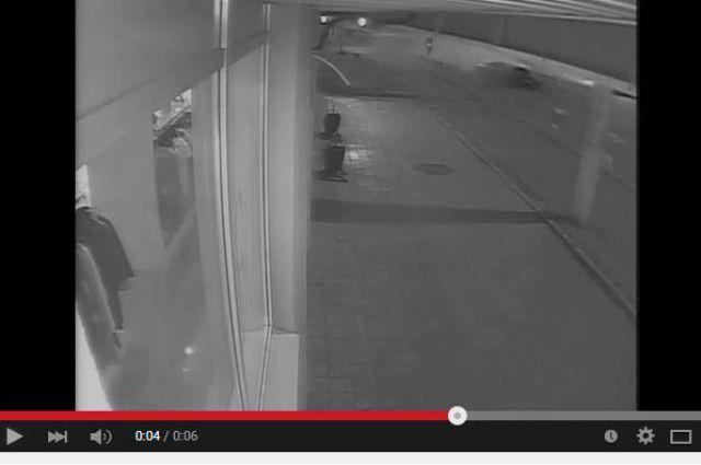 Фрагмент видео со смертельным ДТП на Байкальской.