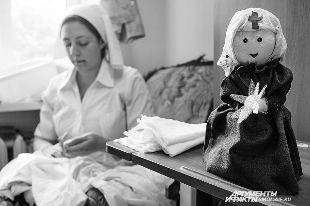 Ольга Иванина - одна из первых сестер милосердия в регионе.
