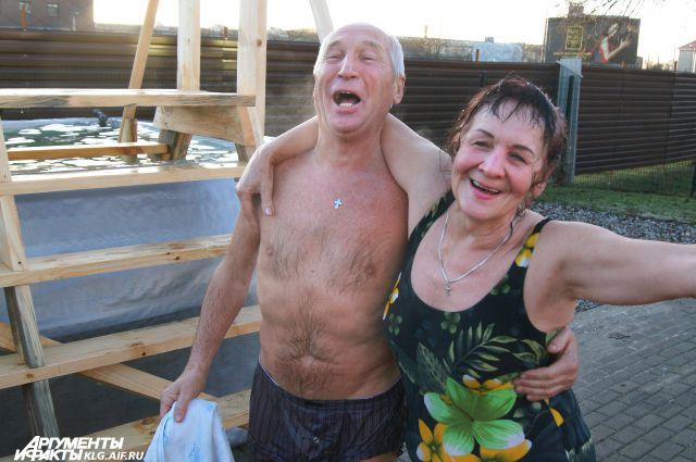 Крещение в Калининграде.