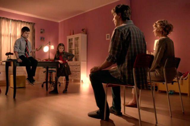 Кадр из рекламного ролика ЦДМ.