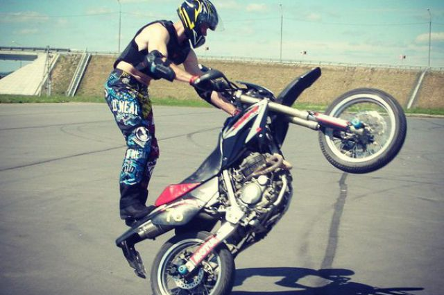 Гонки на мотоциклах - опасное увлечение