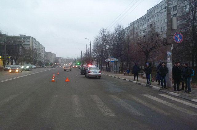 Пешеход скончался от травм на месте аварии