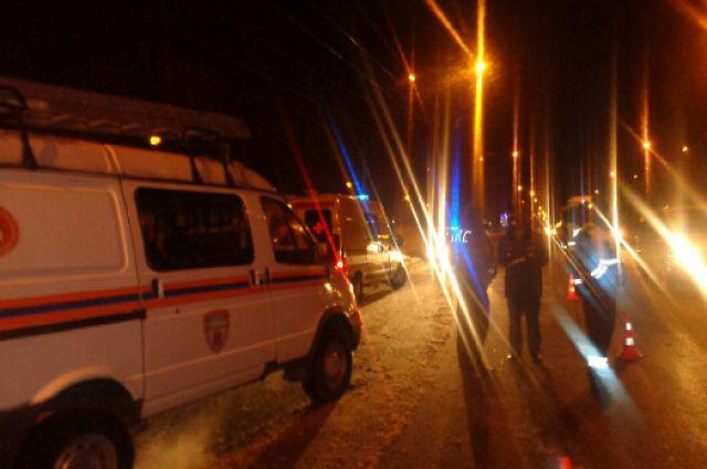 В аварии серьезно пострадал пассажир