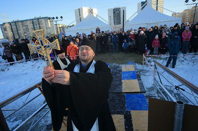 Вода в крещенских купелях в Красноярске заражена кишечной палочкой