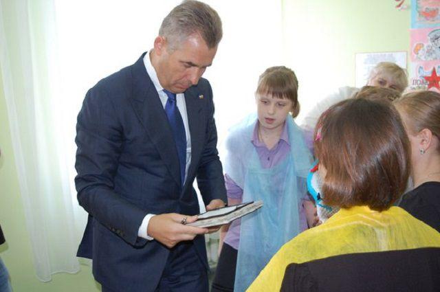 Павел Астахов побывал в Новосибирске