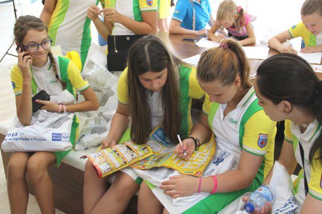 Для участия в конкурсе нужно написать письмо в «Артек».