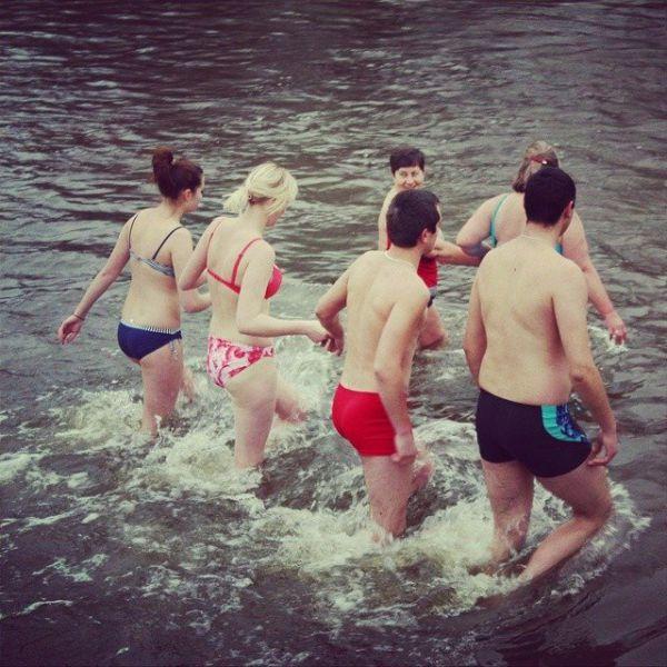 Днепр - самое популярное место для крещения