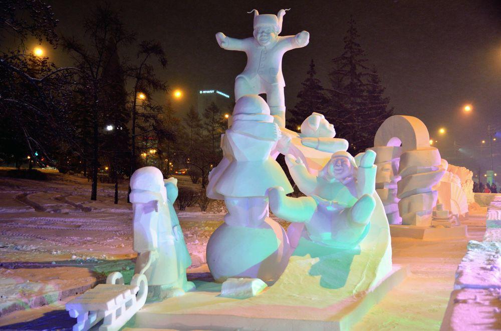 """Счастье"", команда ""Muusuus"" из Якутии (первое место)."