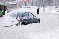 Сильнее всех от погодных проказ пострадали автолюбители.