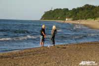 Балтийское море идеально для романтических прогулок.