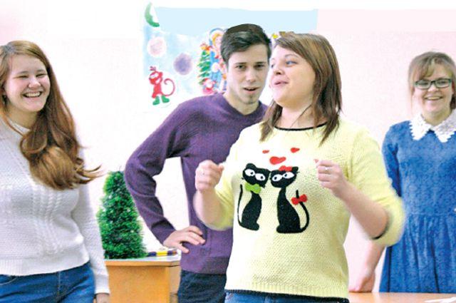 9 января в техникуме у будущих соцработников проходил конкурс актёрского мастерства, где якобы воспитывался «командный дух».