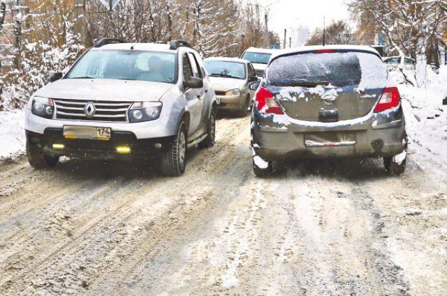 Дороги завалены снегом.