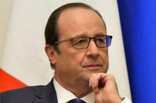 Олланд: Франция ускорит темп военной операции вСирии иИраке