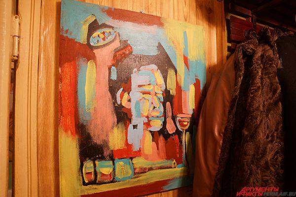 Всего в помещении представлены 23 работы различных жанров девяти пермских художников.
