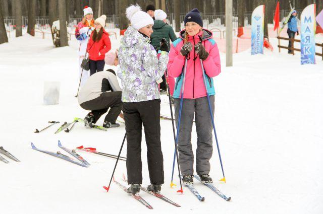 Зимние виды спорта становятся все популярнее.