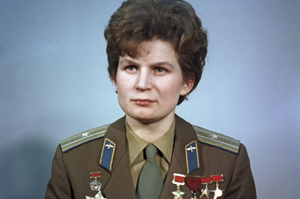 Валентина Терешкова — герой Советского союза, единственная в мире женщина, совершившая космический полёт в одиночку. Первая в России женщина в звании генерал-майор.