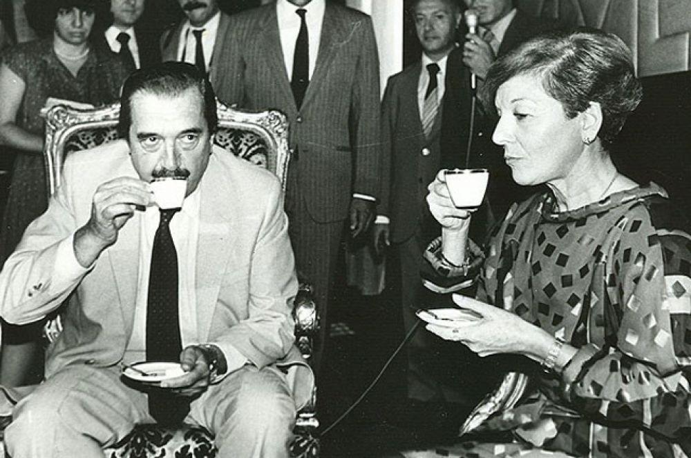Исабель Мартинес де Перон — первая женщина-президент Аргентины в 1974-1976 годах и первая женщина-президент в мире.