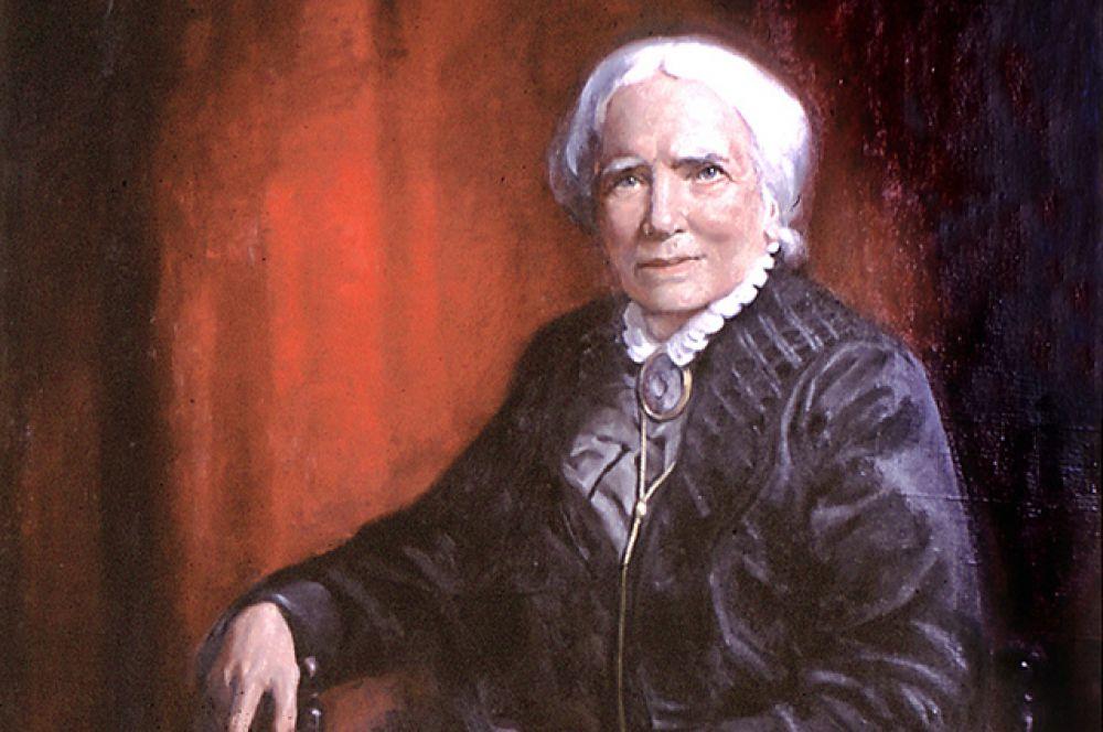 Элизабет Блэквелл — первая женщина, получившая высшее медицинское образование в США.