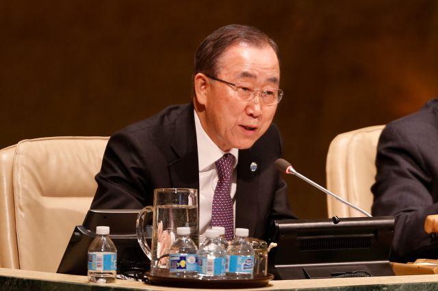 Пан Ги Мун назвал страны, лишенные голоса из-за неуплаты взносов