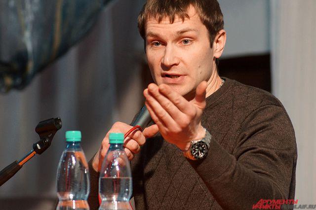 Николай Наумов на мастер-классе.
