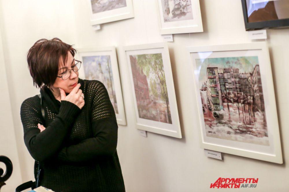 Выставки художника проходят даже в Госдуме.