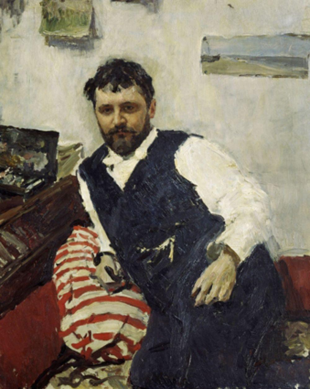 «Портрет художника К.А. Коровина». 1891