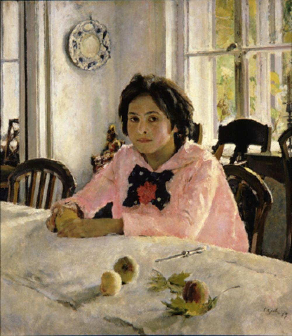 «Девочка с персиками». 1887