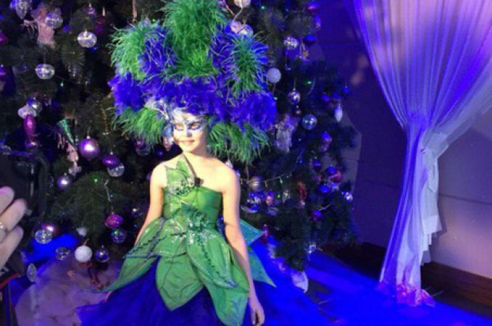 Январские каникулы Оля посвятила участию в конкурсе Prince and Princess of the Universe, который проходил с 4 по 8 января в Москве.