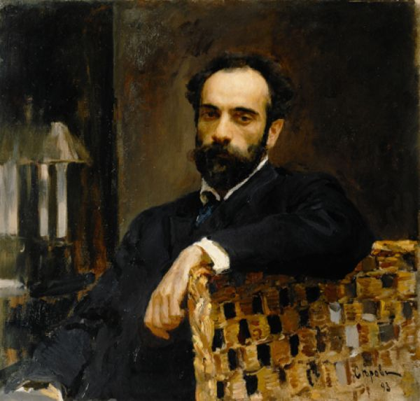 «Портрет художника И. И. Левитана». 1893