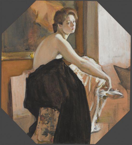 «Натурщица». 1905