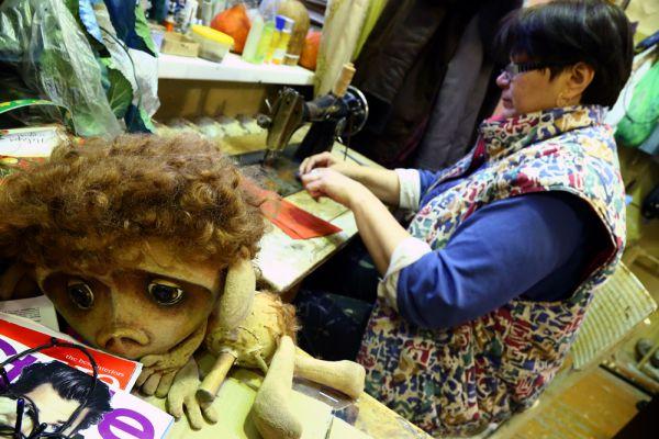 Технология создания кукол не меняется вот уже более 300 лет
