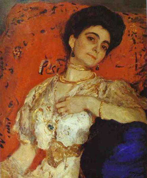 Также нельзя увидеть «Портрет Марии Акимовой» (1908), привезённый из Национальной галереи Армении, который сам Серов считал одной из лучших своих картин.