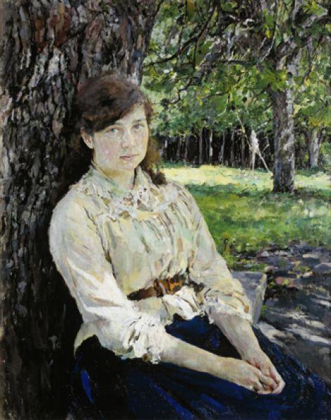 «Девушка, освещенная солнцем. Портрет М. Я. Симонович». 1888