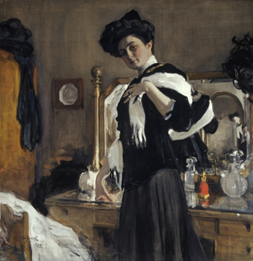 «Портрет Генриэтты Леопольдовны Гиршман (1885-1970)». 1907