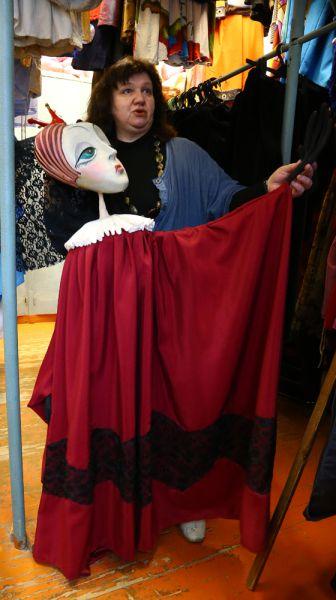 Королева из спектакля «Белоснежка и 7 гномов»
