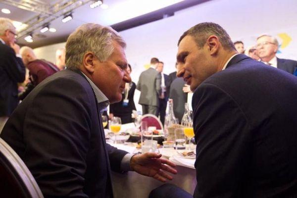 Кличко и Квасьневский