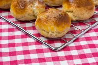 Сырные безглютеновые бразильские булочки